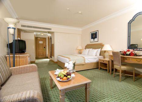 Hotelzimmer mit Volleyball im Simena Hotel