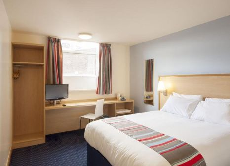 Hotelzimmer mit Klimaanlage im Travelodge London Kings Cross Royal Scot