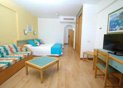 Hotelzimmer mit Tischtennis im Aparthotel Green Field