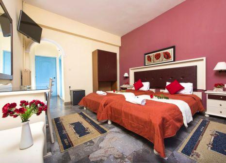 Hotelzimmer mit Tischtennis im Potamaki Beach Hotel