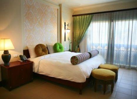 Hotelzimmer mit Mountainbike im Siva Port Ghalib