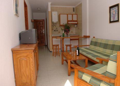 Hotelzimmer mit Tennis im Apartamentos Solana