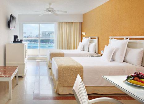 Hotelzimmer mit Volleyball im Occidental Costa Cancún
