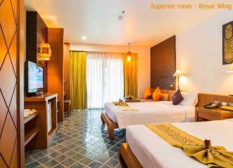 Hotelzimmer mit Minigolf im The Royal Paradise Hotel & Spa