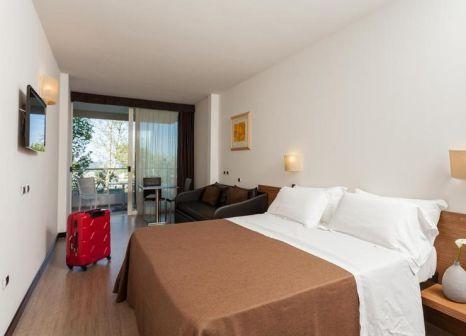 Hotelzimmer mit Tischtennis im Cristallo
