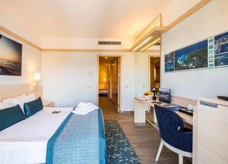 Hotelzimmer mit Volleyball im La Blanche Island Bodrum