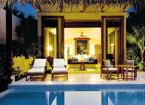 Hotelzimmer mit Yoga im Conrad Maldives Rangali Island
