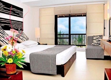 Hotelzimmer mit Mountainbike im Goldi Sands