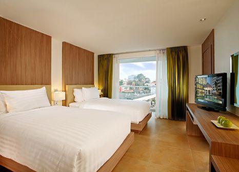 Hotelzimmer mit Kinderpool im Centara Pattaya Hotel