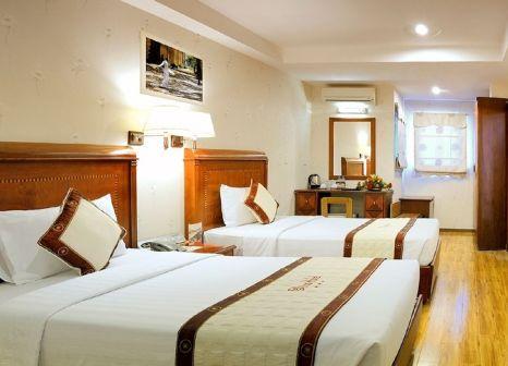 Hotelzimmer mit Mountainbike im Elios Hotel
