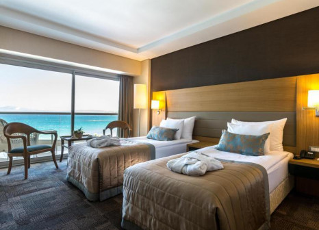 Hotelzimmer mit Mountainbike im Boyalik Beach Hotel & Spa