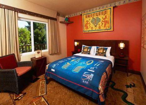 Hotelzimmer mit Spielplatz im Legoland Hotel