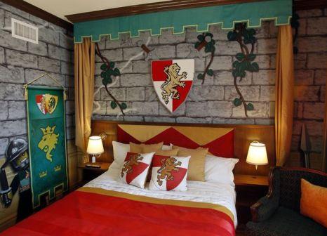 Hotelzimmer mit Animationsprogramm im Legoland Hotel
