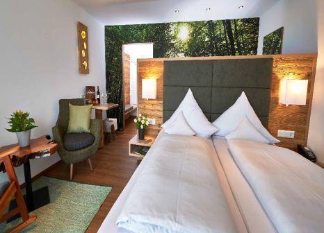 Hotelzimmer mit Mountainbike im Das Reiners