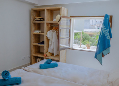 Hotelzimmer mit Pool im Hotel Mamboo