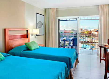 Hotelzimmer mit Mountainbike im Hotel Playa Paraíso