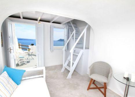 Hotelzimmer mit Whirlpool im Caldera Premium Villas