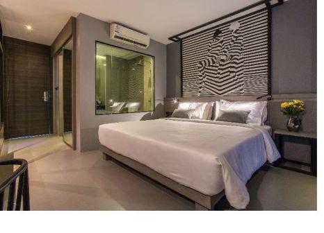 Hotelzimmer mit Fitness im Mazi Design Hotel by Kalima