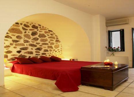 Hotelzimmer mit Sandstrand im Santorini Reflexions Volcano