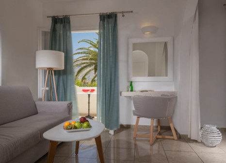 Hotelzimmer mit Fitness im Hermes Hotel Kamari Santorini