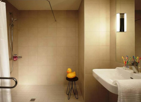 Hotelzimmer mit Klimaanlage im MOXY Frankfurt Airport