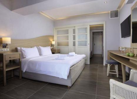 Hotelzimmer mit Mountainbike im Lyttos Beach