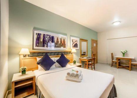 Hotelzimmer mit Golf im Golden Sands Hotel Apartments
