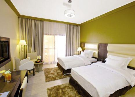 Hotelzimmer mit Volleyball im Bin Majid Beach Hotel