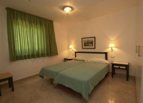 Hotelzimmer mit Mountainbike im San Nicolas