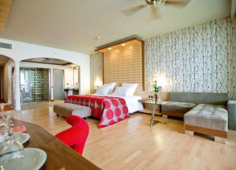 Hotelzimmer mit Tennis im Hotel Defne Kumul Suites
