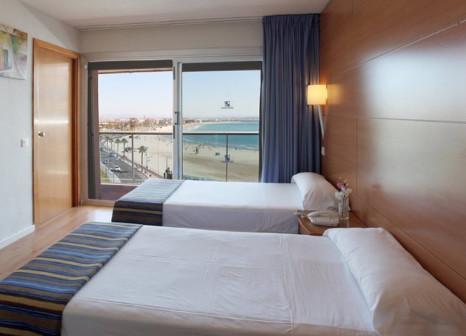 Hotelzimmer mit Tischtennis im Golden Donaire Beach