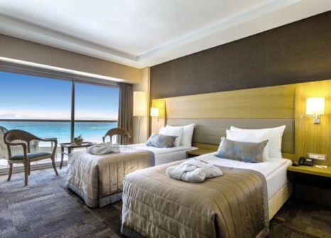 Hotelzimmer mit Volleyball im Boyalik Beach Hotel & Spa