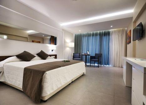 Hotelzimmer mit Mountainbike im Melissi Beach