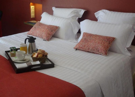 Hotelzimmer mit Hochstuhl im Aquabella