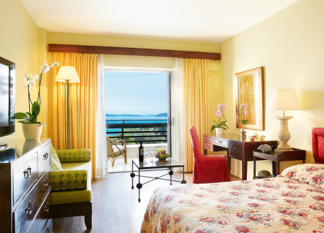 Hotelzimmer mit Volleyball im Lux Me Grecotel Daphnila Bay Dassia