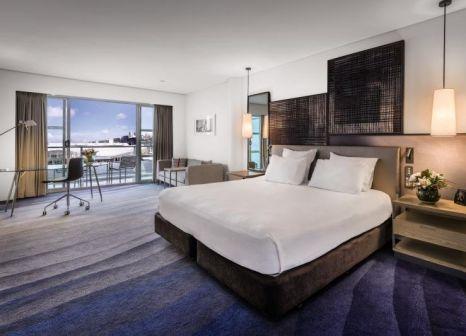 Hotelzimmer mit Animationsprogramm im Hilton Auckland