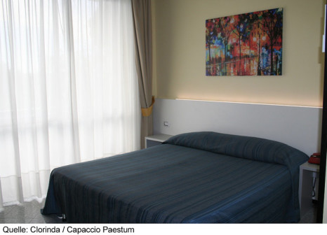 Hotelzimmer mit Volleyball im Clorinda