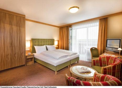 Hotelzimmer mit Mountainbike im Österreichischer Hof