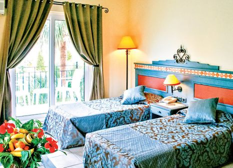 Hotelzimmer mit Tischtennis im Club Alla Turca