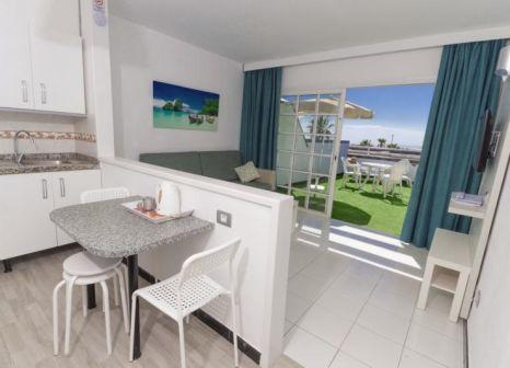 Hotelzimmer mit Tischtennis im Vista Oasis Bungalows