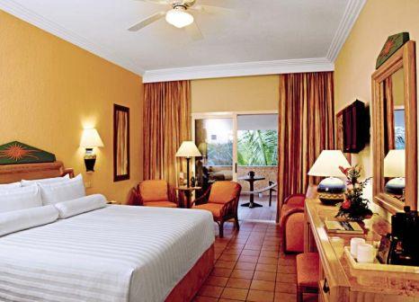 Hotelzimmer mit Volleyball im Barceló Maya Tropical