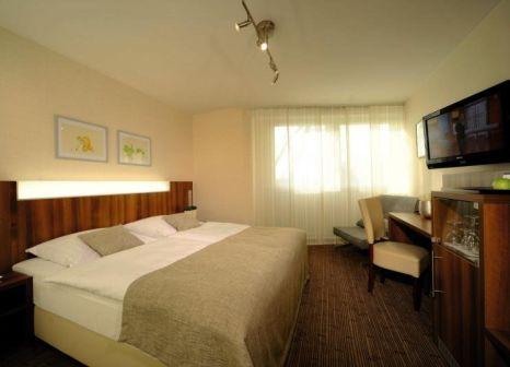 Hotelzimmer mit Tischtennis im Parkhotel Oberhausen