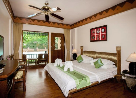 Hotelzimmer mit Mountainbike im Chaba Cabana Beach Resort