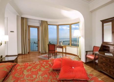 Hotelzimmer mit Mountainbike im Hotel Villa Diodoro