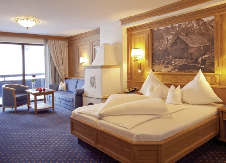 Hotelzimmer mit Tischtennis im Almhof