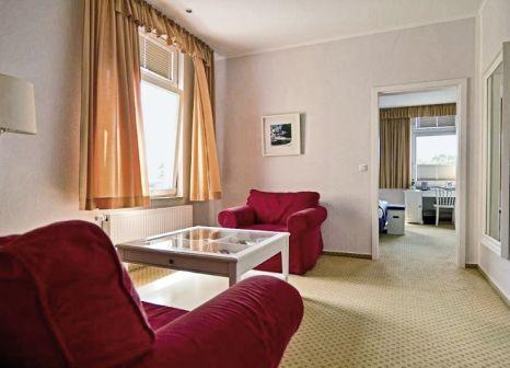 Hotelzimmer mit Sandstrand im Parkhotel Wangerooge