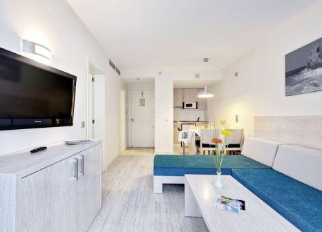 Hotelzimmer mit Volleyball im Alcudia Garden Aparthotel