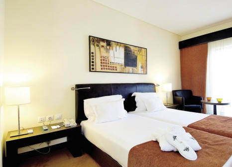 Hotelzimmer mit Golf im Vila Galé Santa Cruz