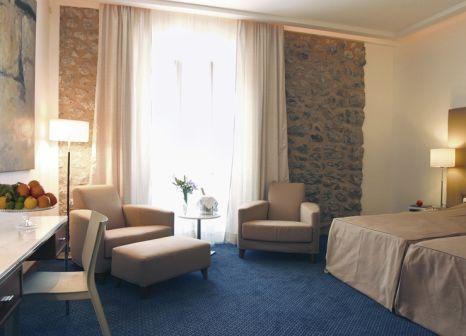 Hotelzimmer mit Mountainbike im Gran Hotel Soller