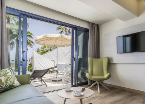 Hotelzimmer mit Mountainbike im Garden & Sea Boutique Lodging
